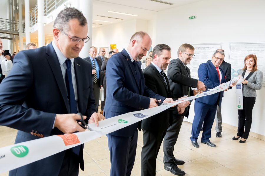 Slávnostné otvorenie externého pracoviska Centra technickej podpory