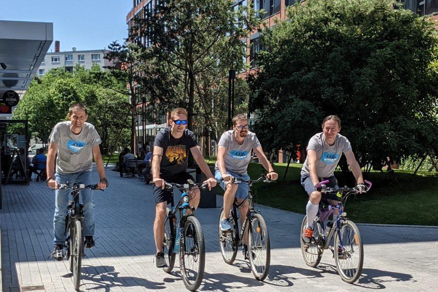Do práce na bicykli 2021